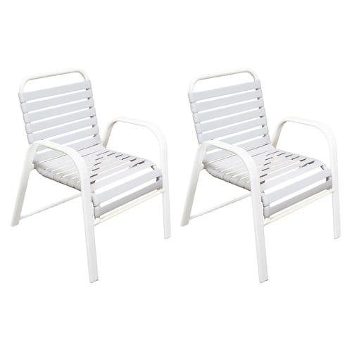 Swell Commercial Grade Dining Patio Chair 2 Pack At Menards Ibusinesslaw Wood Chair Design Ideas Ibusinesslaworg