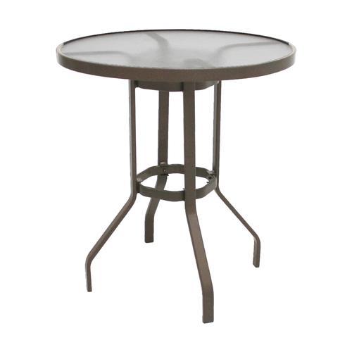 Commercial Grade 36 Round Acrylic Top Bar Patio Table At Menards
