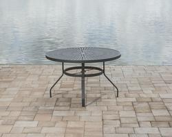 Backyard Creations 174 Legacy Round Dining Patio Table At