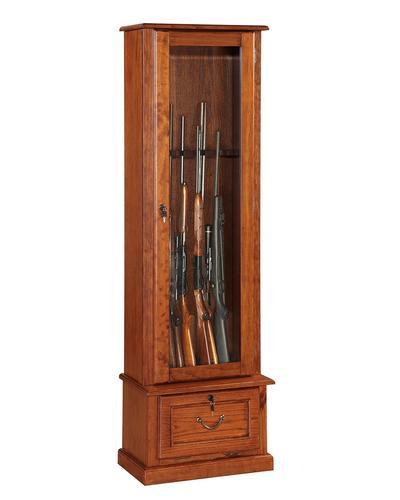 8-Gun Wooden Gun Cabinet at Menards®
