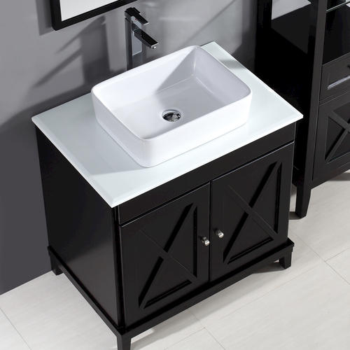 Ove Décors 32 W X 22 D Aspen Vanity And Top With Vessel Sink At Menards