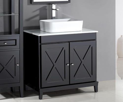 Ove Decors 32 W X 22 D Aspen Vanity And Vanity Top With Vessel Sink