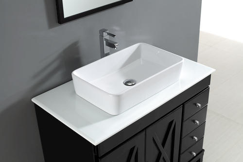 Aspen Vanity And Top With Vessel