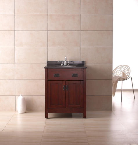 Ove Décors 28w X 22 D Cain Vanity And Vanity Top With Undermount