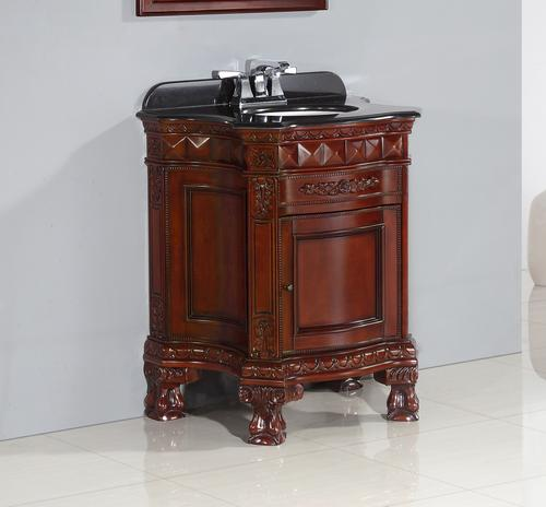 OVE Décors W X D Chesterfield Vanity And Vanity Top With - Bathroom vanities at menards for bathroom decor ideas