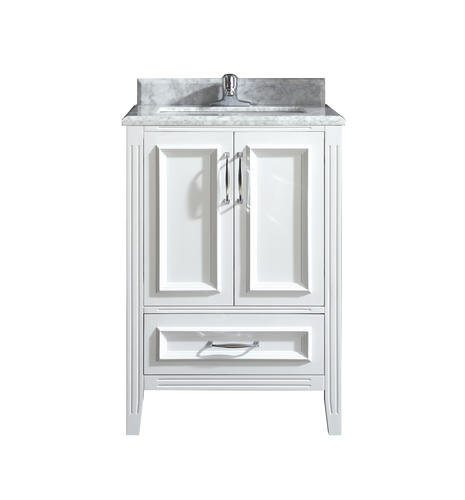 Ove Decors Claire 24 W X 21 D White Bathroom Vanity Cabinet At