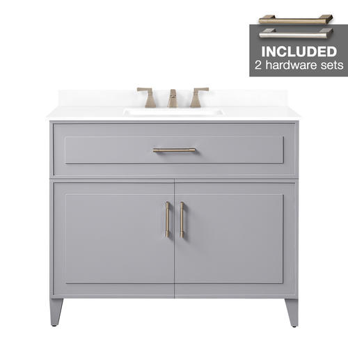 Pebble Gray Denver Vanity