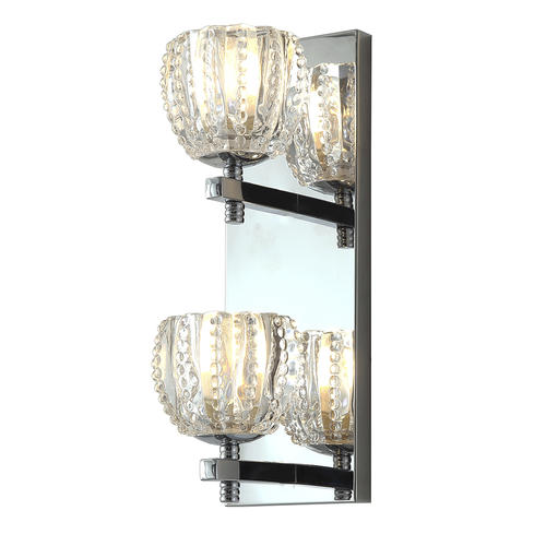 Patriot Lighting Lizzy 2 Light Led Bath Vanity Sconce At