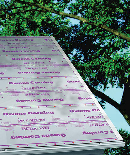 Owens Corning® Deck Defense® High-Performance Synthetic