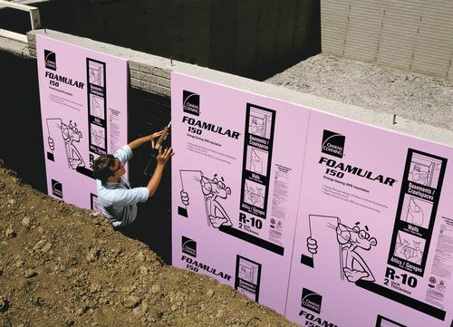 Owens Corning 174 Foamular 174 Extruded Polystyrene Insulation 2