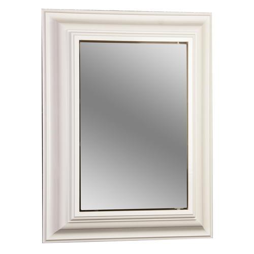"""pace 24"""" white crown framed medicine cabinet at menards®"""