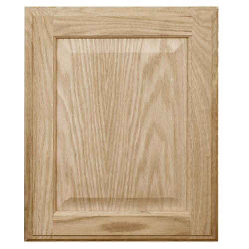 Mastercraft 174 Unfinished Oak Square Raised Panel Cabinet