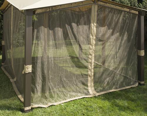 12' x 12' Sail Gazebo Mosquito Netting at Menards®