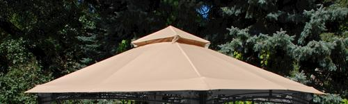 13 X 10 Roof Style Gazebo Replacement Canopy