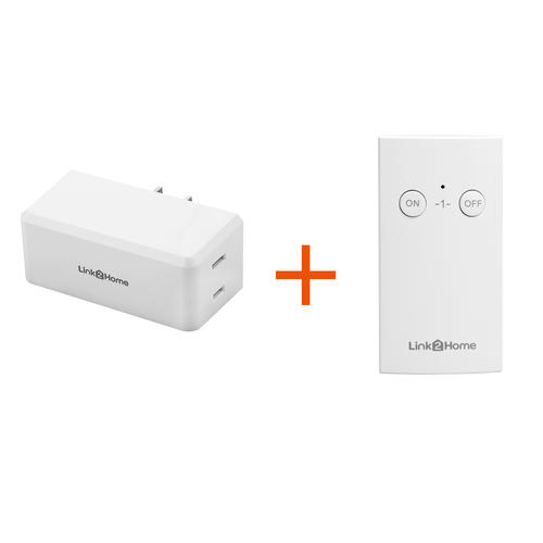 Link2home Indoor Wireless Remote Control 1 Outlet At Menards 174
