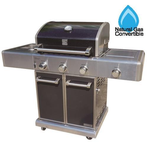Kenmore Elite 3 Burner Propane Gas Grill With Side Burner At Menards