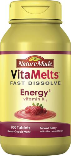 82513939534 Nature Made® VitaMelts Vitamin B-12 500 mcg Tablets - 100 ct. Model Number   4103 Menards ® SKU  5713665