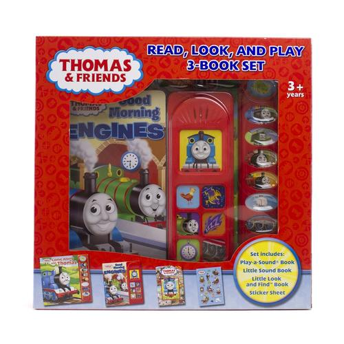 Thomas The Train Read, Look, And Play 3 Book Set At Menards®