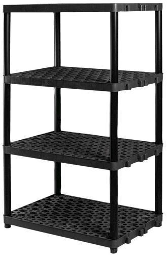 plano 36 w x 62 h x 24 d 4 shelf plastic shelving unit at menards rh menards com