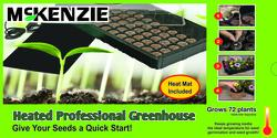 McKenzie Heated Seed Starter Greenhouse Kit
