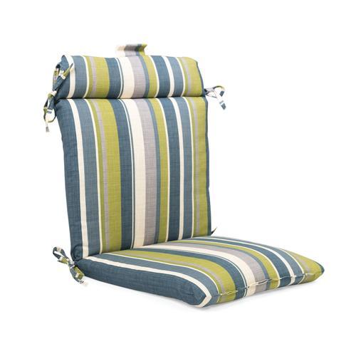 Backyard Creations™ Karina Stripe Wrought Iron Chair ...