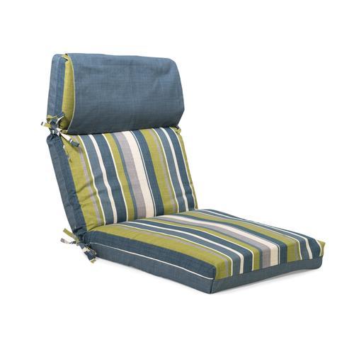 Backyard Creations™ Karina Stripe Reversible Chair Cushion ...