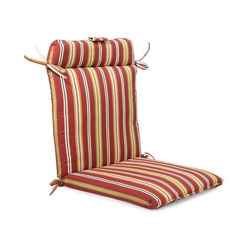 Backyard Creations™ Sangria Stripe Wrought Iron Chair ...