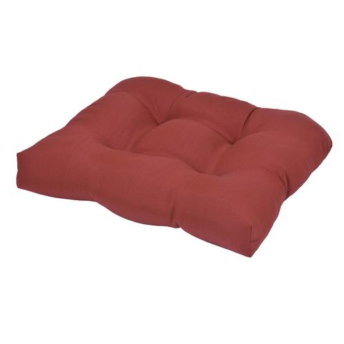 Backyard Creations™ Ashland Solid Tufted Seat Cushion at ...