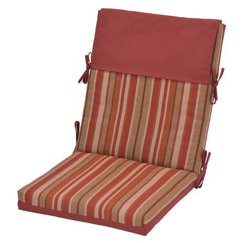 Backyard Creations™ Ashland Stripe Patio Chair Cushions At