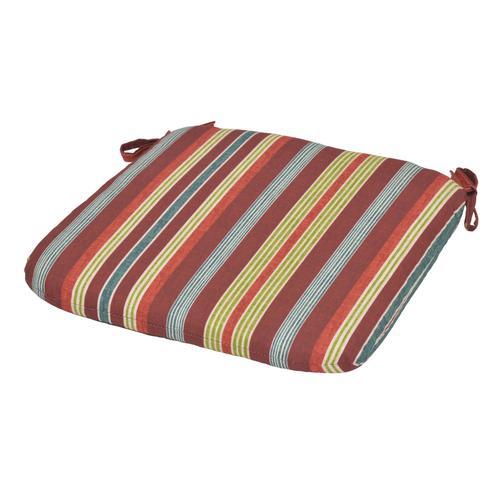 Backyard Creations™ Mango Bay Stripe Seat Cushion at Menards®