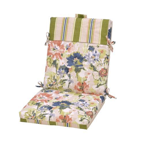 Backyard Creations Karina Floral Patio Chair Cushions At Menards