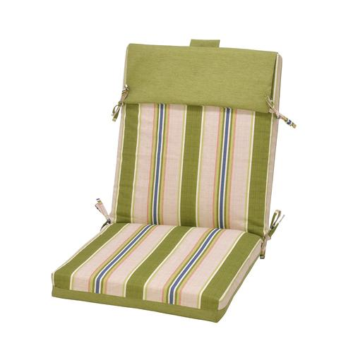 Backyard Creations Trade Karina Stripe Patio Chair Cushions