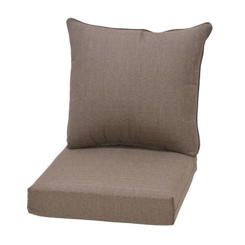 Backyard Creations™ Windsor Taupe Solid Deep Seating ...
