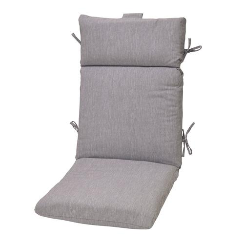 Backyard Creations Pacifica Solid High Back Patio Chair Cushions At
