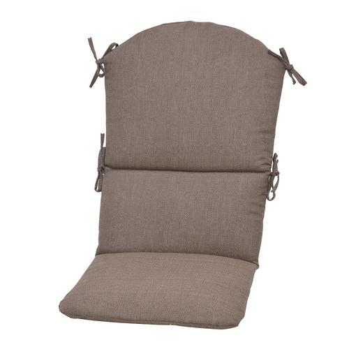 Backyard Creations™ Windsor Taupe Solid Adirondack Cushion ...