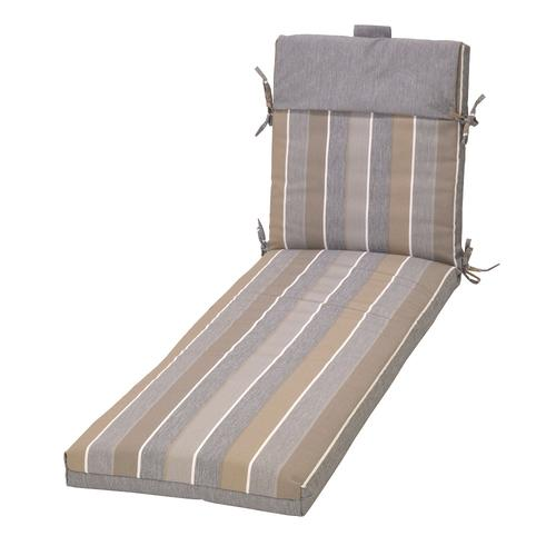 Backyard Creations™ Pacifica Stripe Patio Chaise Cushions ...