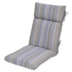 Backyard Creations Pacifica Stripe Ultra High Back Patio Chair Cushions