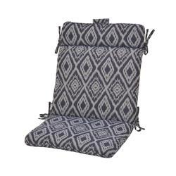Backyard Creations Baltic Ikat Wrought Iron Patio Chair Cushions
