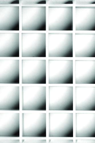Plaskolite 23 75 X 47 White Egg Crate Louver Light