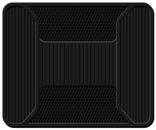 PlastiColor Black 1-Piece PVC Elite Car Mats