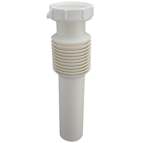 Plumb Pak 1 1 2 X 12 Plastic Flexible Tailpiece At Menards