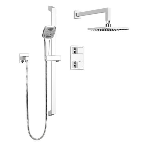 Shower Faucet.Belanger By Keeney Quadrato 2 Handle 1 Spray Shower Faucet In