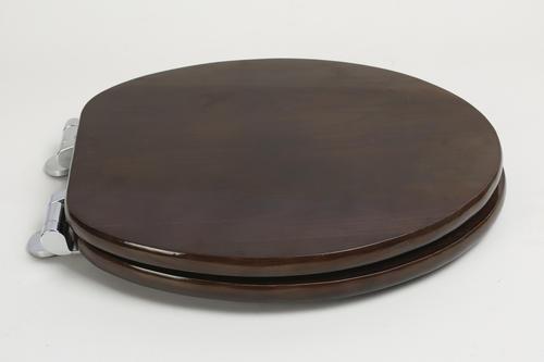 Bathdecor Elongated Solid Oak Wood Toilet Seat At Menards 174