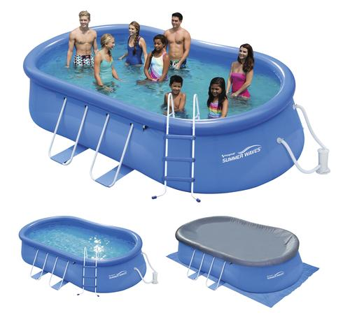 Polygroup® Summer Waves® 15' x 42