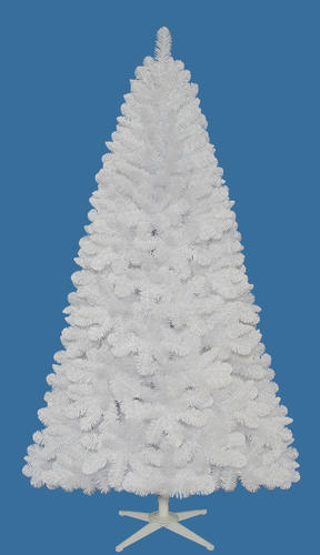 Enchanted Forest® 7' White Andover Artificial Christmas Tree at ...