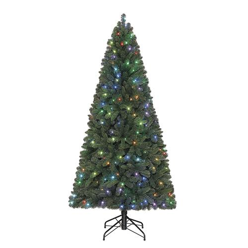 Enchanted Forest® 7' Prelit Chesterfield Spruce Artificial ...