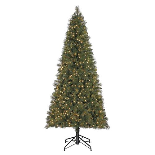 6f62aa4107b21 Enchanted Forest® 7  Prelit Greenwich Pine Artificial Christmas Tree ...