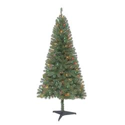 1e80a3c8fce Enchanted Forest® 6  Prelit Bedford Pine Artificial Christmas Tree