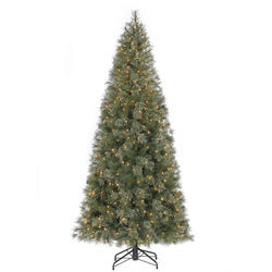 enchanted forest 75 prelit vermont pine artificial christmas tree at menards