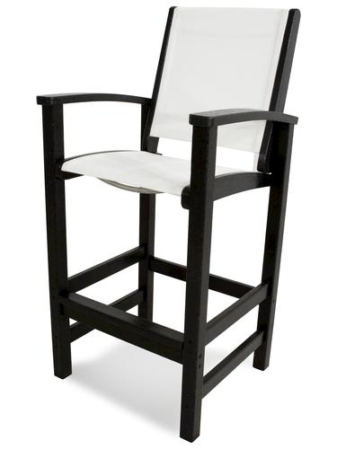 Phenomenal Polywood Coastal Bar Height Dining Patio Chair At Menards Dailytribune Chair Design For Home Dailytribuneorg